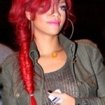 rihanna-red-long-braided-hairstyle-205x300