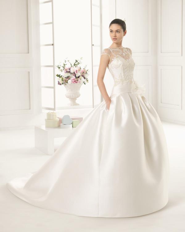 vestidos-de-novia-2016-seda-bordado