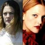 Actriz Drew Barrymore sin maquillaje