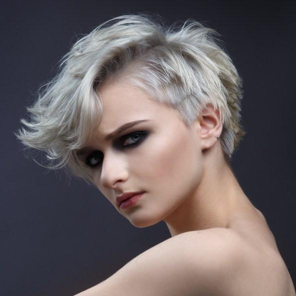 Cortes de pelo con flequillo con pelo corto
