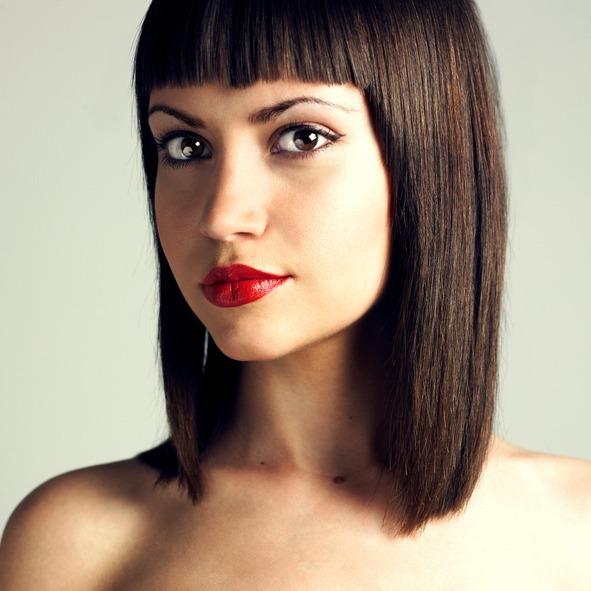 Cortes de cabello recto para mujer 2019