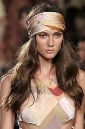 peinado hippie pañuelo 2