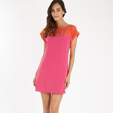 3368f44d6067537e_bright-pink-colour-block-dress