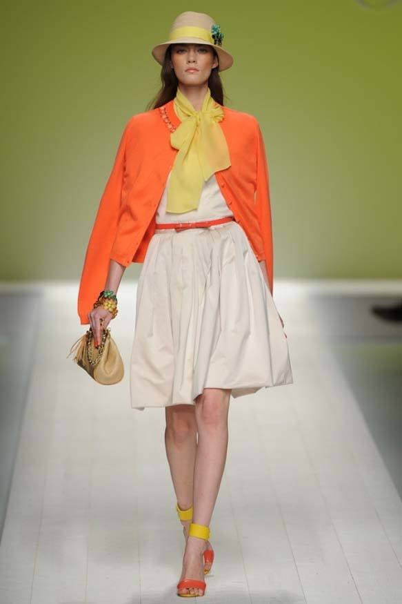 Blugirl-of-orange-fashion