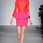 red and pink giambattista valli fall 11 -style