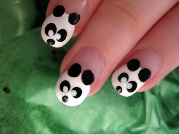 panda-nail-art-design