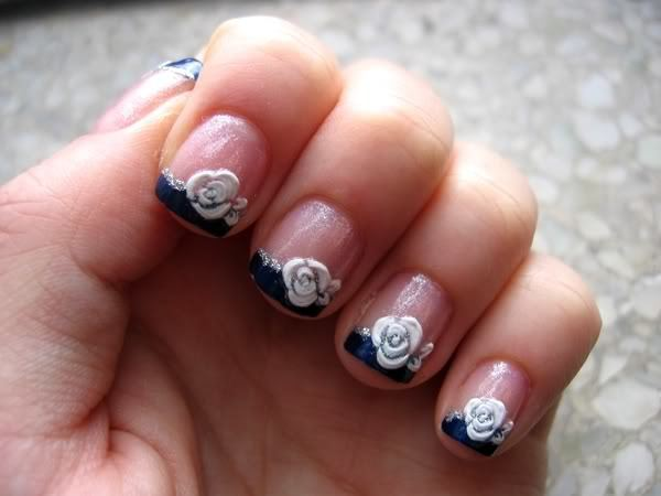white-floral