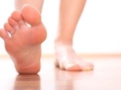 Curar callos de pies