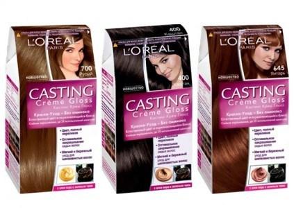 Carta de colores para cabello loreal