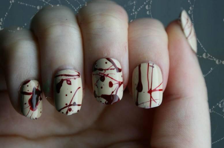 Uas decoradas para halloween imgenes graciosas picture - Pinturas para halloween ...