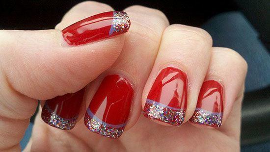 ideas-de-uñas-decoradas-para-navidad-2014-uñas-rojas-con-glitter