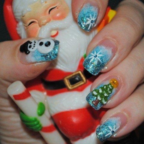 uñas-decoradas-para-navidad