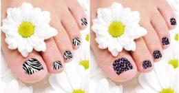 Decoración de Uñas de los Pies – Cómo decorar las uñas de los pies paso a paso
