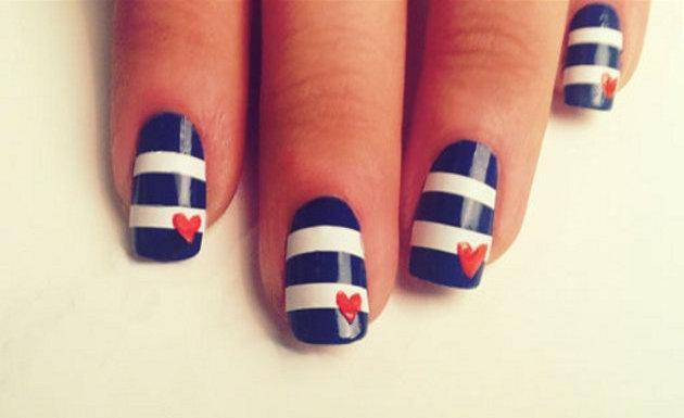 Colores decoración uñas Primavera Verano 2015 Uñas marineras