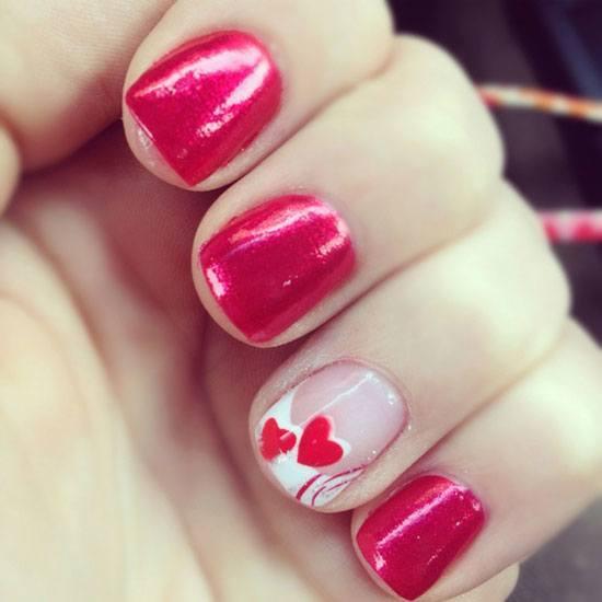 De 60 Disenos De Unas San Valentin 2019 Que Te Encantaran