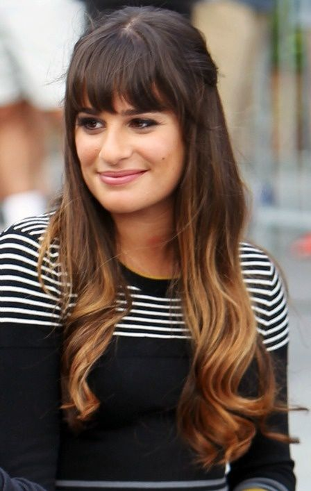 peinados-para-2015-puntas-doradas-actriz-lea-michele