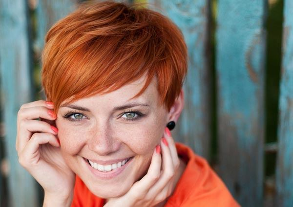 Pixie hairstyle Cute brown hairstyle color pics hair ideas