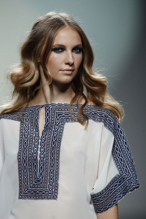 Tendencias-Peinados-Madrid-Fashion-Week-primavera-verano-2014-melena-con-ondas