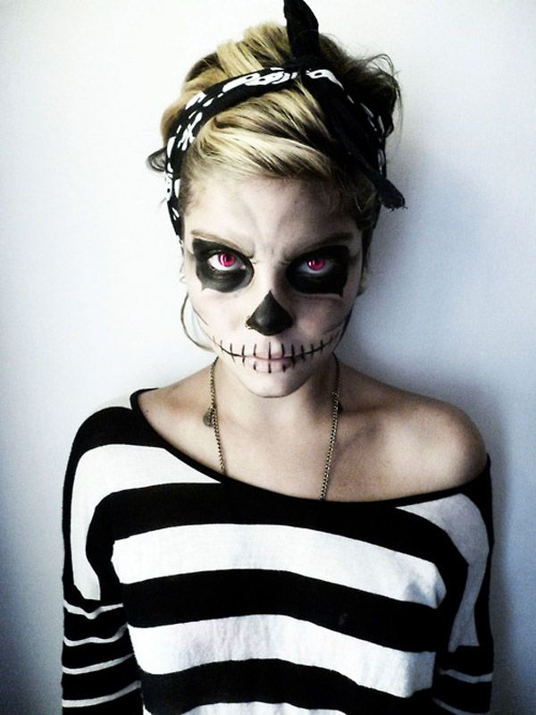 maquillaje miedo