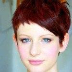 peinados-para-pelo-corto-2014-color-rojo