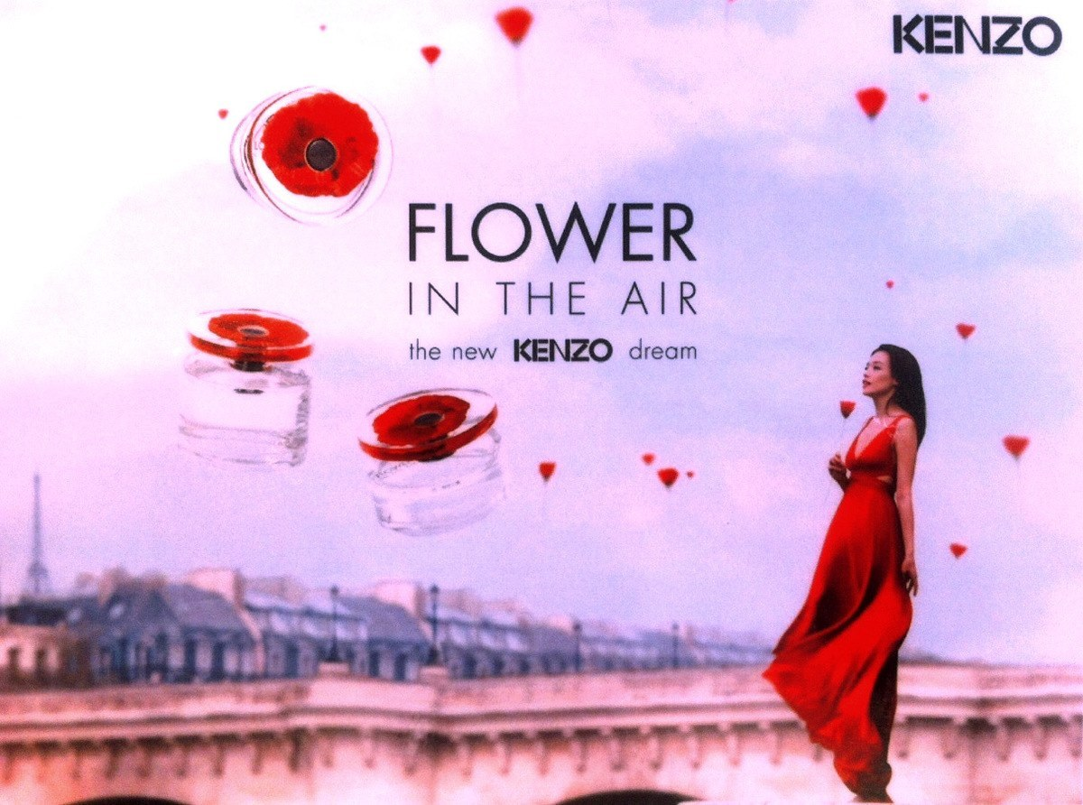 kenzo_flower in the air