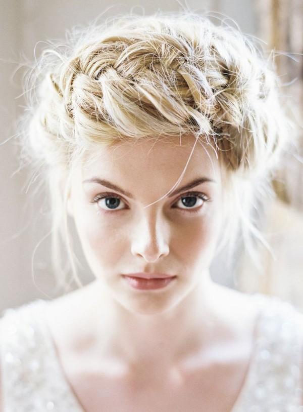 peinados de novias 2015