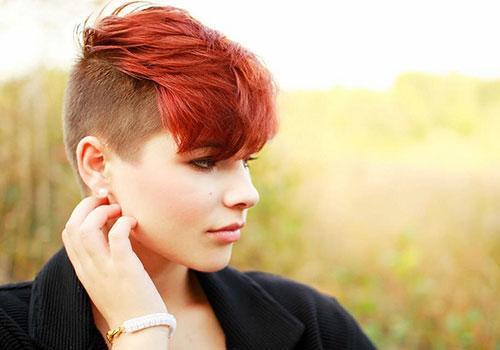 peinados-para-pelo-corto-verano-2014-lados-rapados-color-rojo