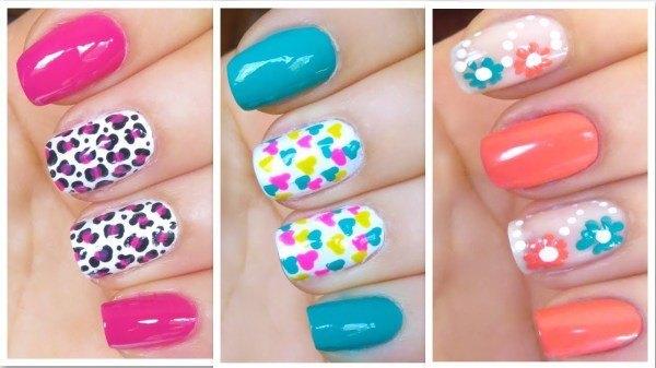 decoracion-de-unas-primavera-verano-2014-colores-estampado-flores