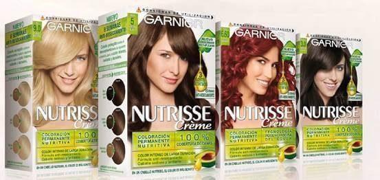 Regalamos un lote de tintes Nutrisse de Garnier