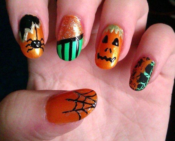 uñas-halloween-2014-paso-a-paso