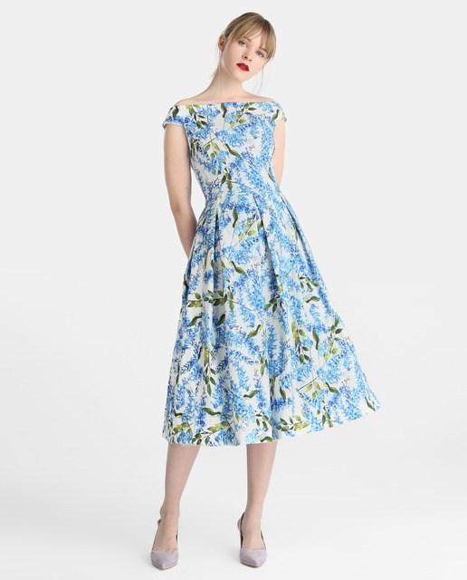vestido-de-noche-largo-primavera-verano-estampado-jacquard-elcorteingles
