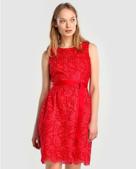 vestidos-de-noche-cortos-primavera-verano-guipur-rn-rojo-elcorteingles