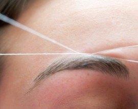 Cómo depilarse las cejas con hilo una misma en casa