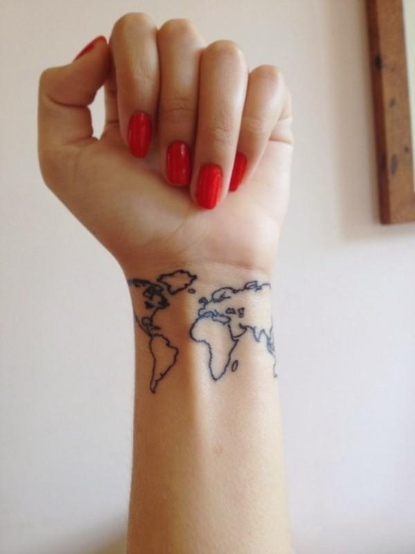 Tatuajes en la muñeca 2015