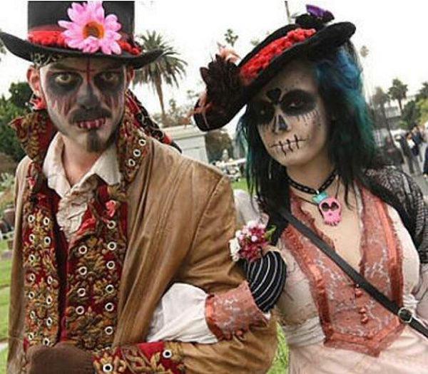 disfraces-para-halloween-parejas-catrinas