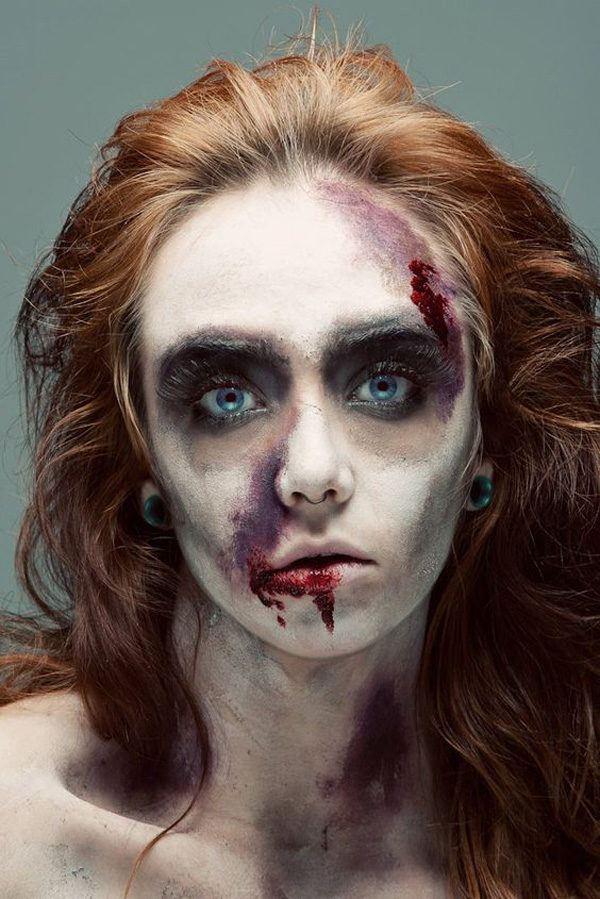 maquillaje-halloween-zombie-peliroja