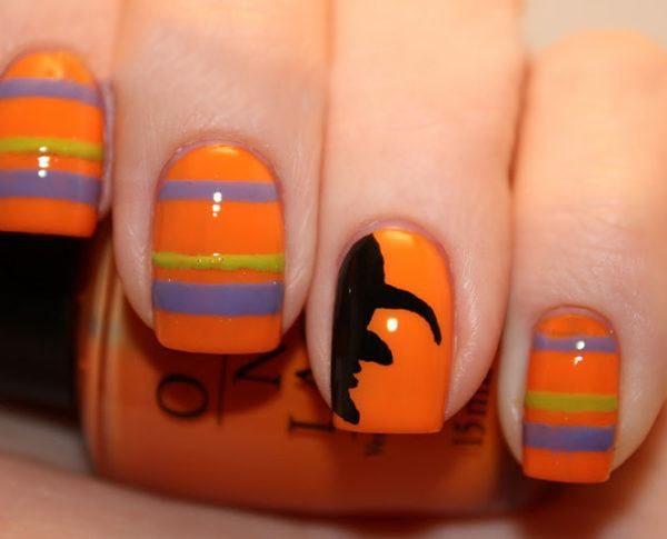 unas-halloween-bruja-naranja-600x485