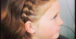 Trenzas para niñas rápidas y fáciles de hacer