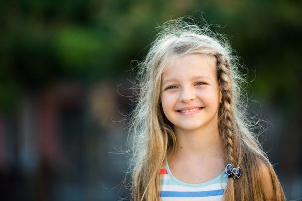Peinados para ninas con el pelo largo
