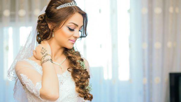 Imagenes d peinados para novias