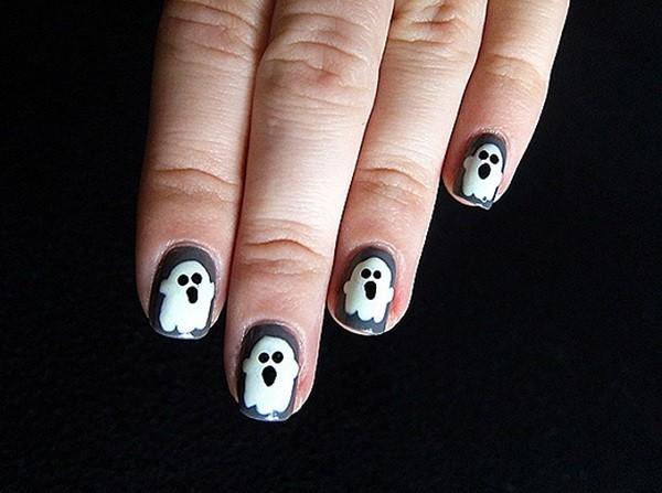 unas-decoradas-halloween-fantasmas