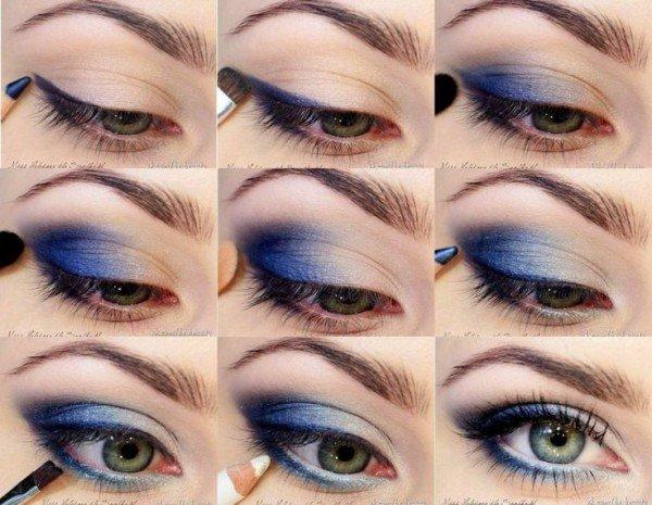 maquillar-ojos-verdes-sombras