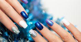 Los mejores diseños de uñas navideñas 2019