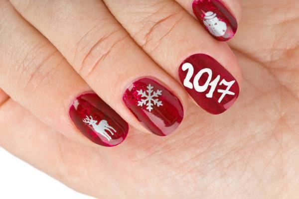 Unas navidenas rojas y blancas para fin de ano