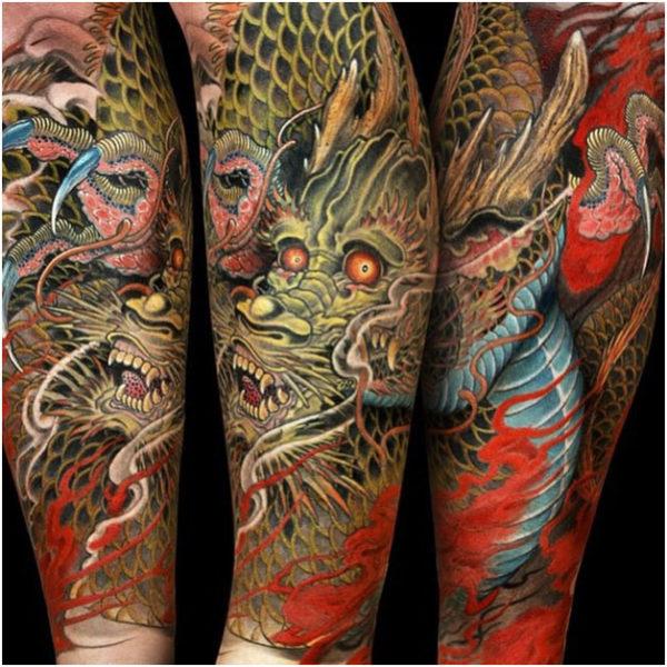 tatuajes-de-dragones-con-detalles