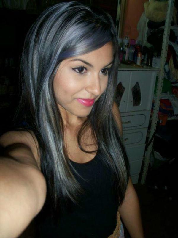 cabello-gris-oscuro-largo