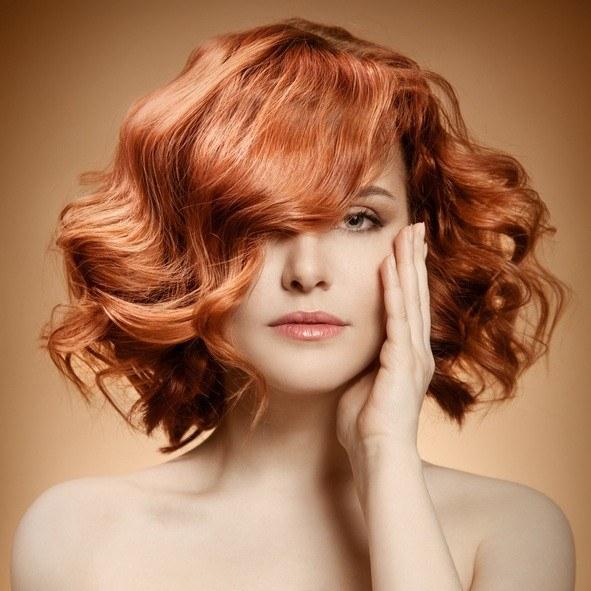 Peinados con ondas flequillo