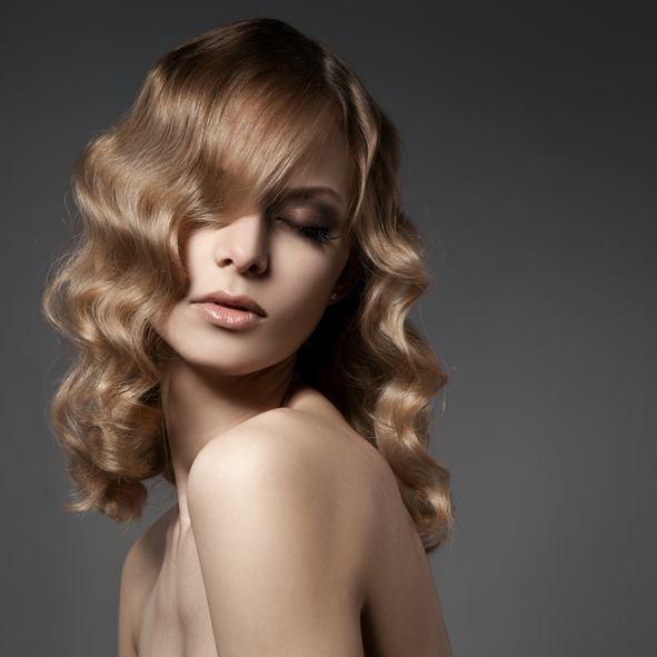 Peinados con ondas pelo largo clasico