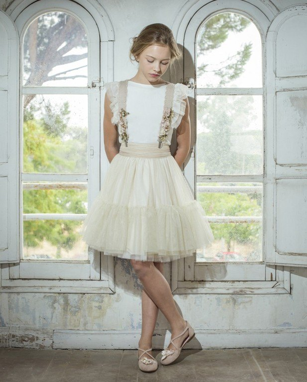 Vestidos de comunion modernos cortos