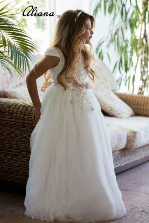 Vestidos de comunion para madres gorditas